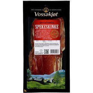 Vossakjøt Spekeskinke skåret 100g